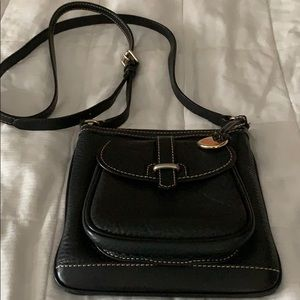 Dooney and Bourke black messenger bag